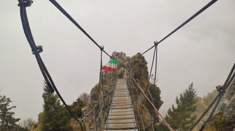 Ferrata Sass Brusai (Monte Grappa)
